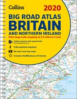 Britain Big Road Atlas 2020